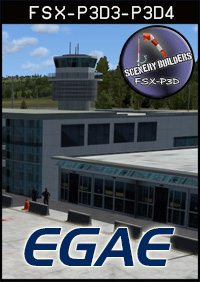 FSXCENERY - EGAE CITY OF DERRY AIRPORT FSX P3D